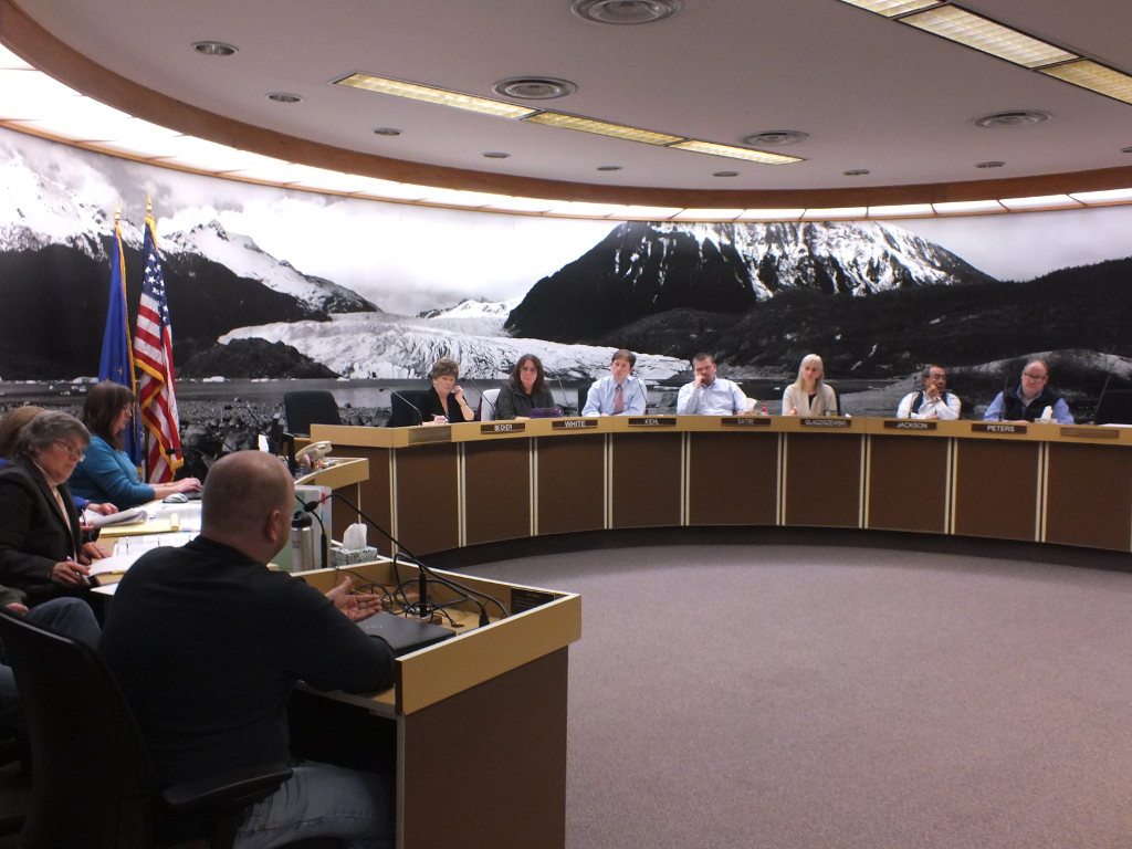 Sean Purvis, Juneau Marijuana Committee