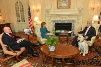 Lisa Murkowski meets with John Kerry. (Photo courtesy Department of State)