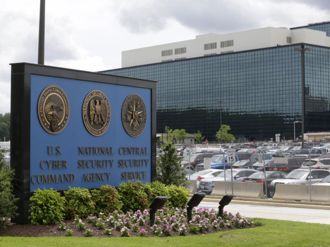 The lawsuit by Wikimedia and other plaintiffs challenges the National Security Agency's use of upstream surveillance, which collects the content of communications, instead of just the metadata. Patrick Semansky/AP