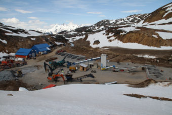 The Brucejack mine site is shown in this 2013 photo. (Courtesy Pretivm Resources)