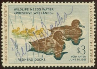 Duck stamp. (Photo courtesy Wikimedia Commons)