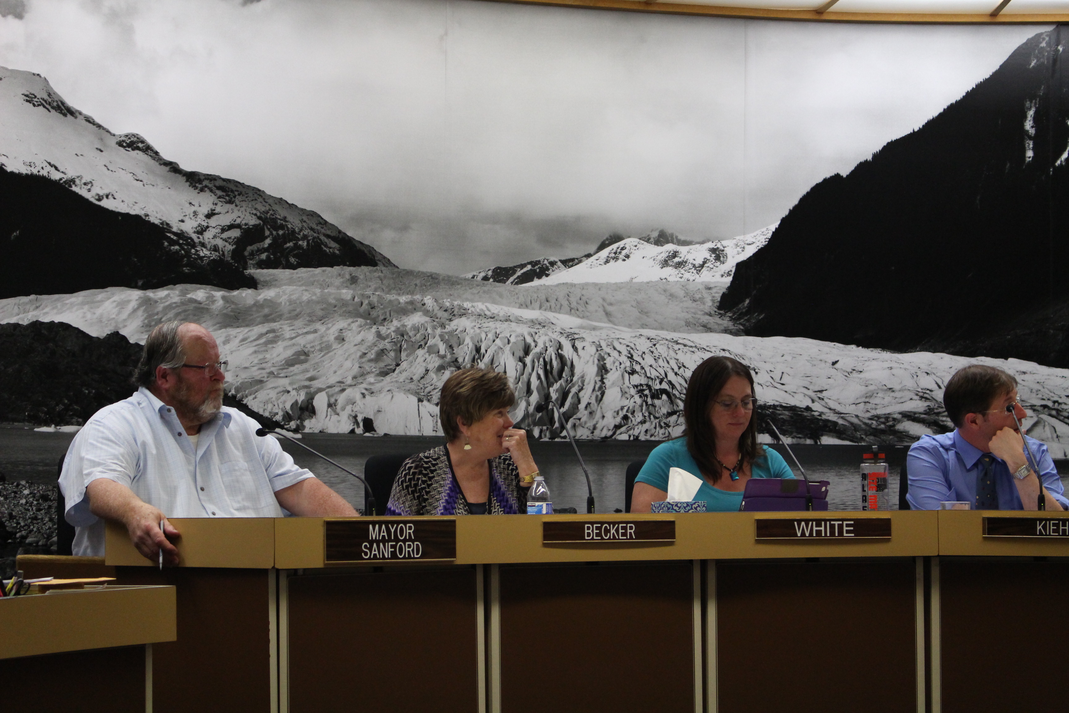 The Juneau Assembly meeting (photo by Elizabeth Jenkins/KTOO)