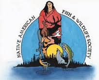 The Native American Fish and Wildlife Society logo.