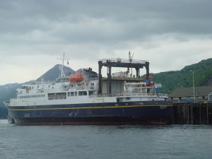 The ferry Tustumena. (Photo courtesy of Nancy Heise)