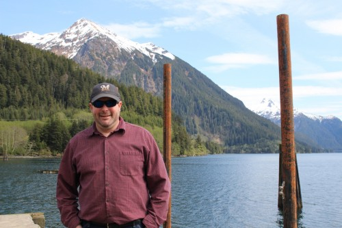 Garry White came to Sitka in 2008 and has ridden the wave of the bulk water venture. But new developments in infrastructure and capital are giving him hope that bulk water shipments to California will happen this year. (Photo by Emily Kwong/KCAW)
