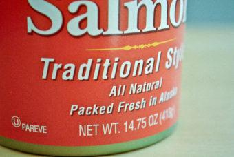 Canned Alaska salmon. (Creative Commons photo courtesy of cookbookoman17)