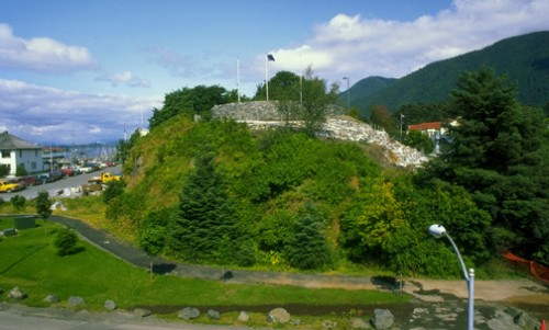 "Castle Hill, in downtown Sitka, is the best place to take in the full measure of the community's ""cultural landscape."" (Photo courtesy of Alaska Division of Parks)"
