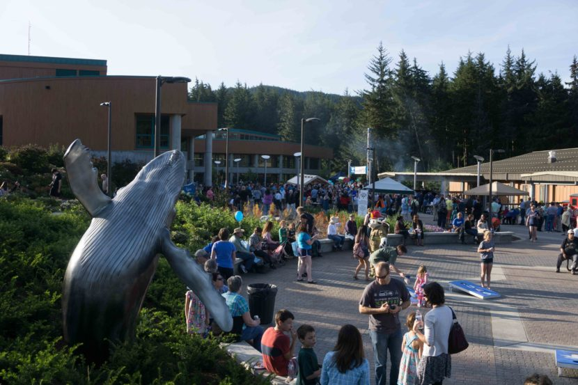 The 2015 Governor's Picnic was held at the University of Alaska Southeast. (Photo by Jeremy Hsieh/KTOO)