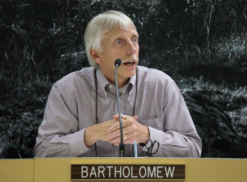 Bob Bartholomew, July 30, 2015. (Photo by Jeremy Hsieh/KTOO)