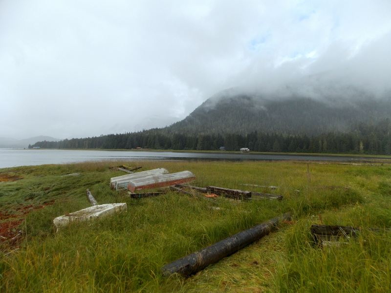 The view over to Kupreanof from Sharon Sprague's house on Sasby Island. (Photo by Joe Sykes/KFSK)