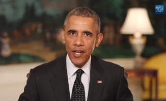 President Barack Obama will address climate change during his visit to Alaska. (Whitehouse.gov video screenshot)