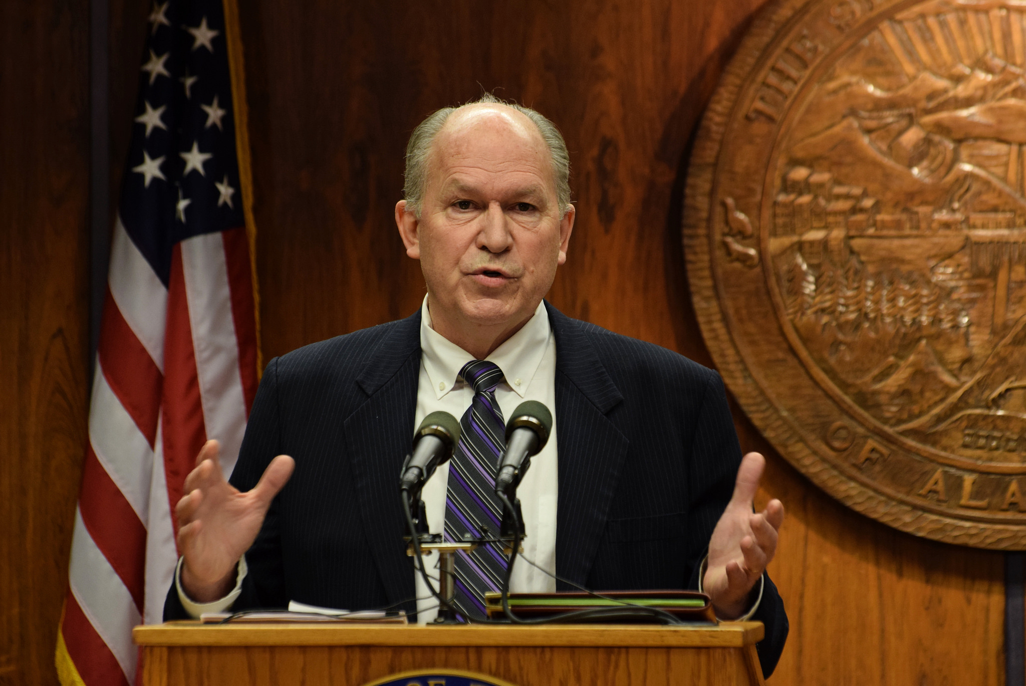 Gov. Bill Walker 2015 02 19