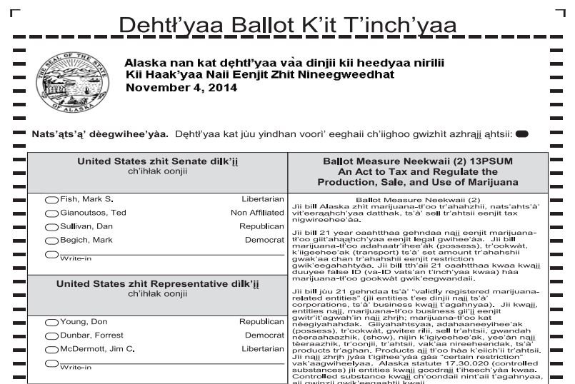 State promises more Yup'ik and Gwich'in voter assistance in settlement