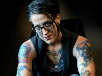 Lutheran Pastor Nadia Bolz-Weber says that all are welcome at her Denver church, The House for All Sinners and Saints. Courtney Perry