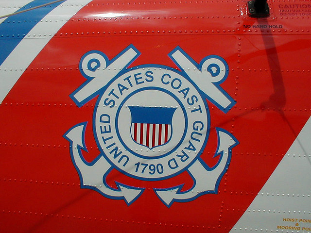 Coast Guard insignia (Creative Commons photo by Charles Tilford)