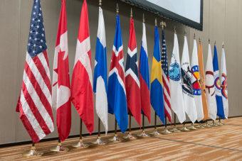 Arctic Council Flags
