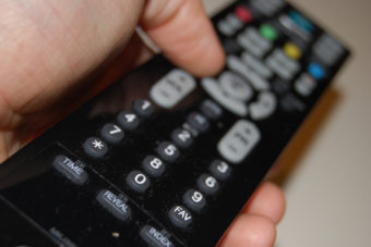 A remote controller for television. (Creative Commons photo by espensorvik)
