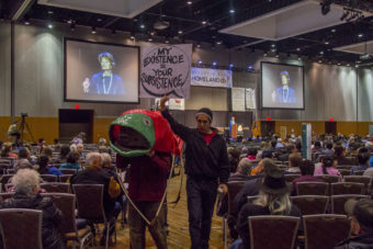 Lisa Murkowski Subsistence Protest 2