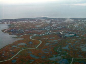 Hooper Bay, Alaska. (Creative Commons photo by Travis)