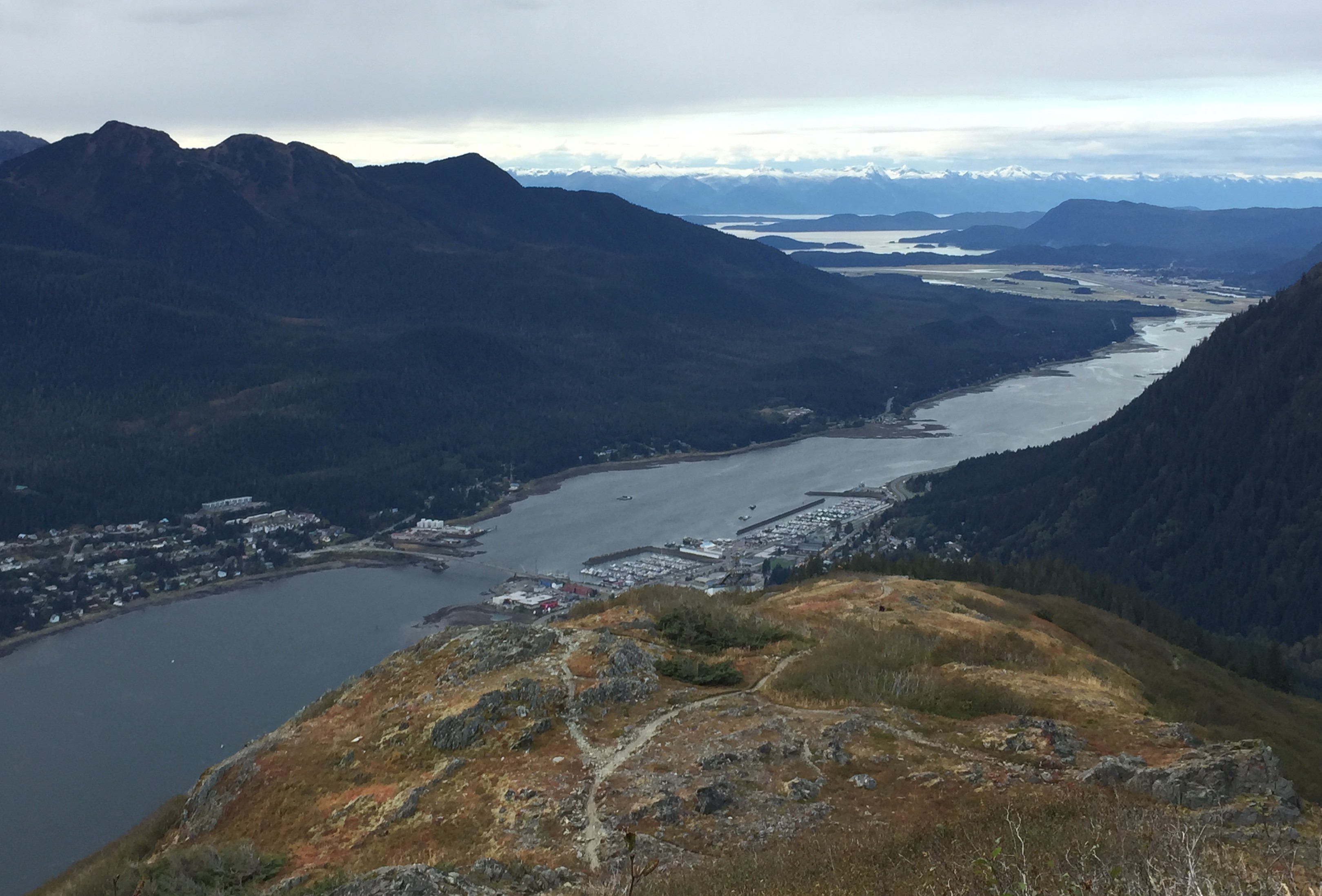 View from Mount Roberts in September. (Photo by Lisa Phu/KTOO)
