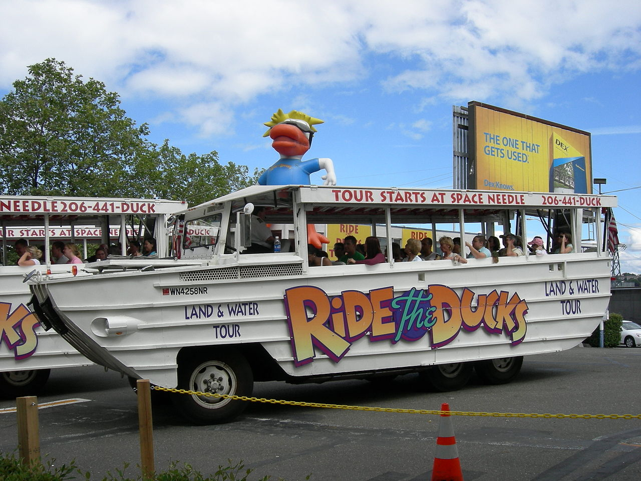 Seattle duck boats - Ride the Ducks