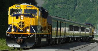 Alaska Railroad in Whittier