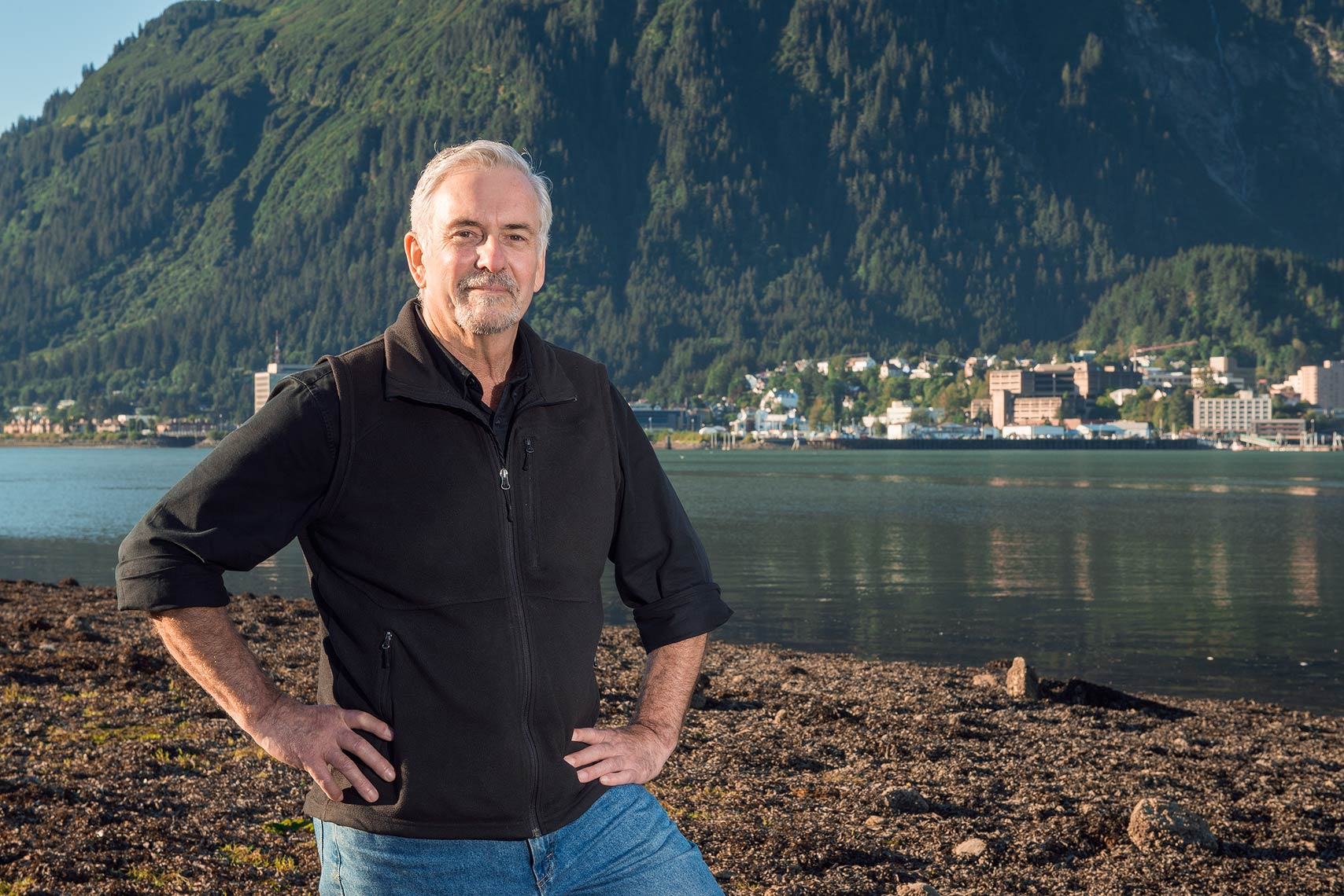 Juneau Mayor Greg Fisk was found dead in his home Monday afternoon. (Photo courtesy Greg Smith)