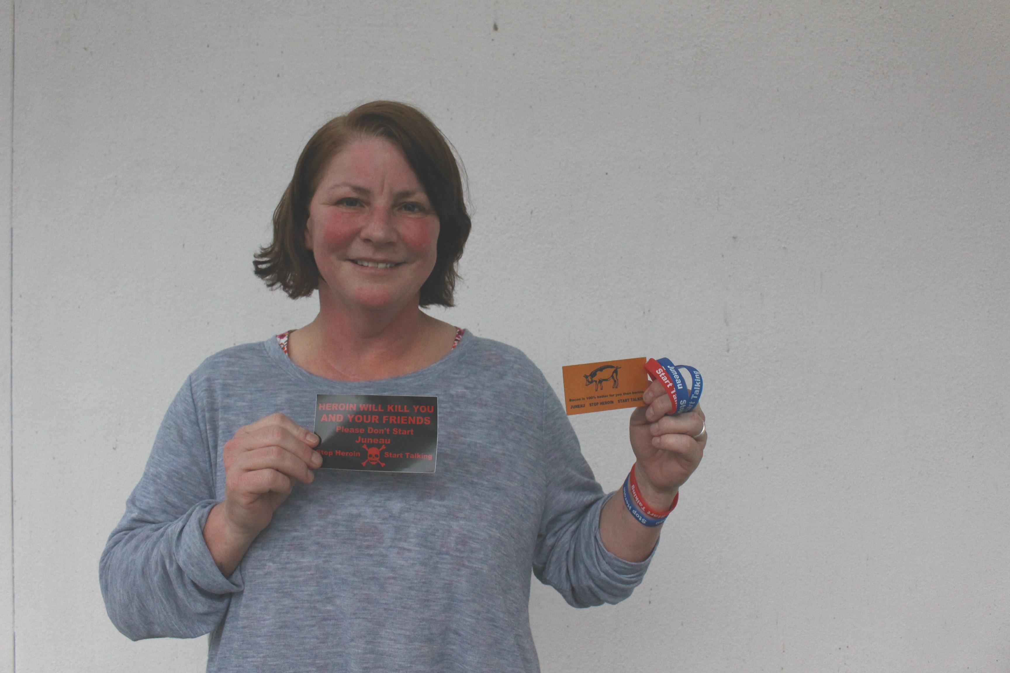 Michele Stuart is organizing the Stop Heroin Start, Talking  Event. (Photo by Elizabeth Jenkins)