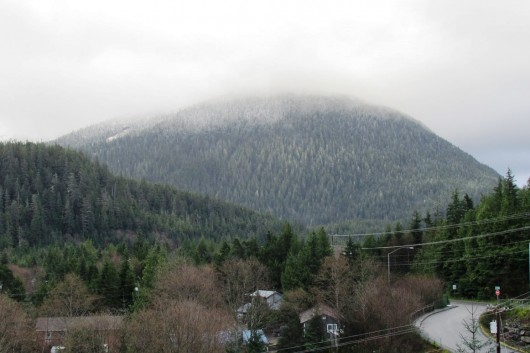 Deer Mountain in Ketchikan