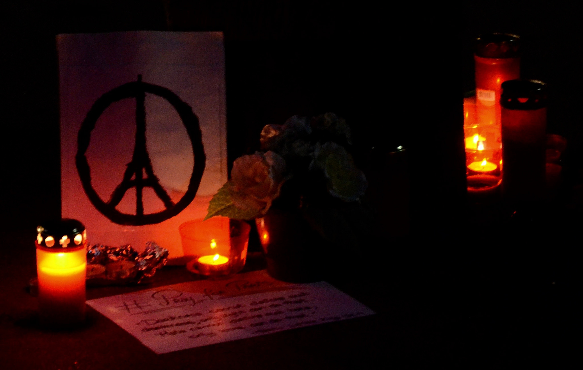 Nov. 13 Paris attacks memorial