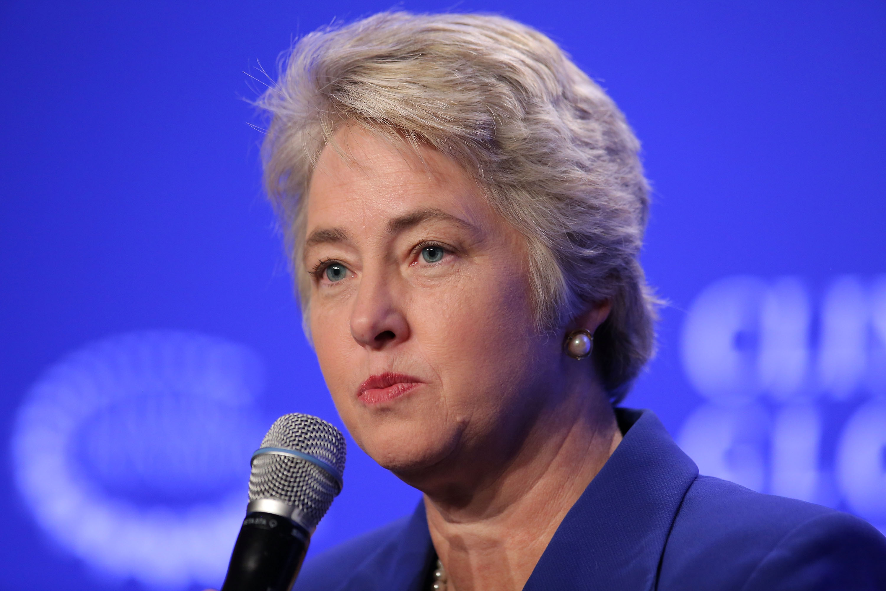 Houston Mayor Annise Parker lost a big fight with the conservatives, when voters rejected an anti-discrimination law. (Photo by Jemal Countess/Getty Images)