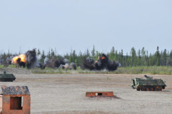 Fort Wainwright Small Arms Range unexploded ordnance disposal