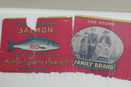 Family Brand canned salmon label featuring Peratroviches