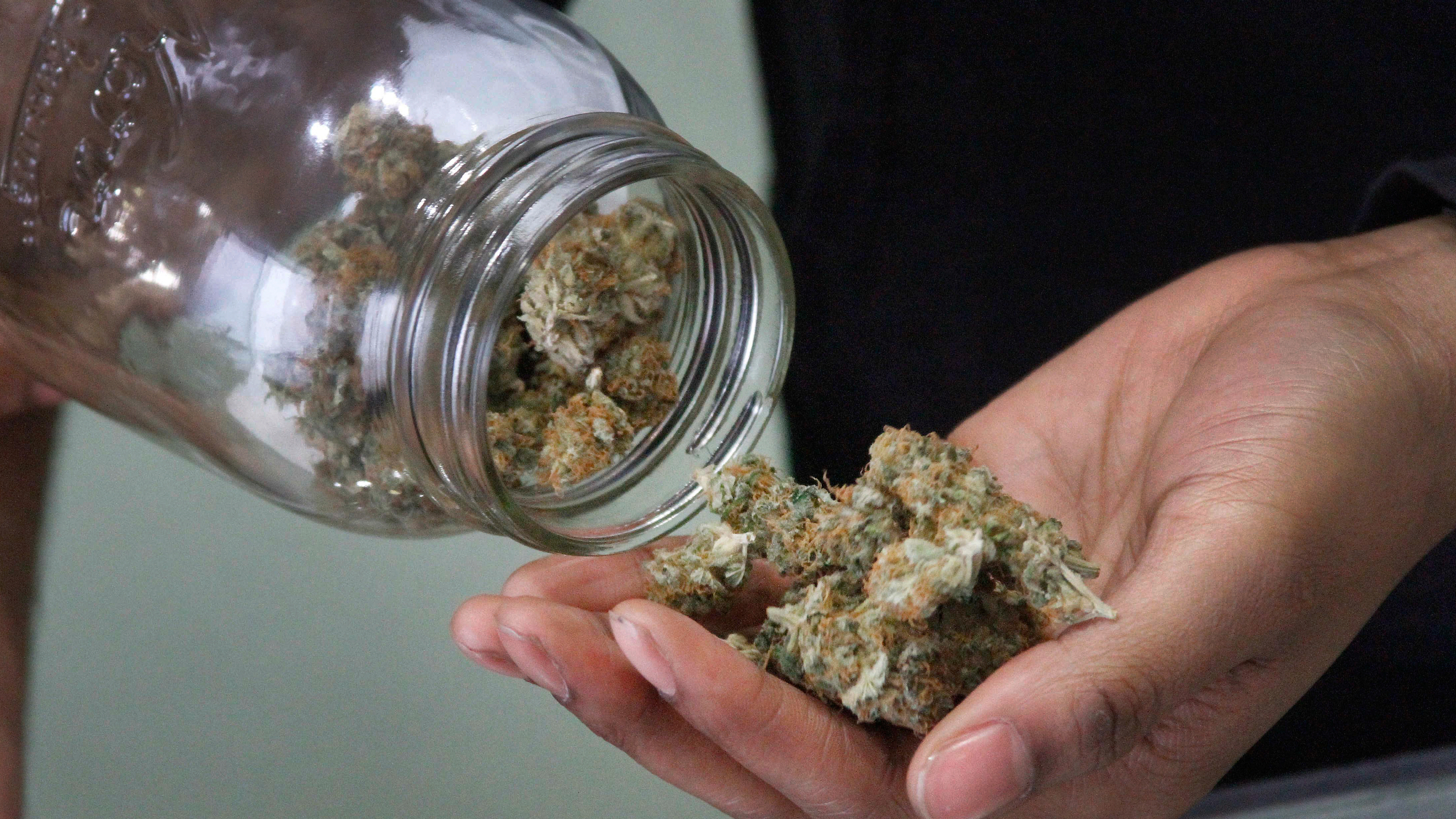 Alaska legalized pot this year and is the first state to have pot cafes where people can consume marijuana.