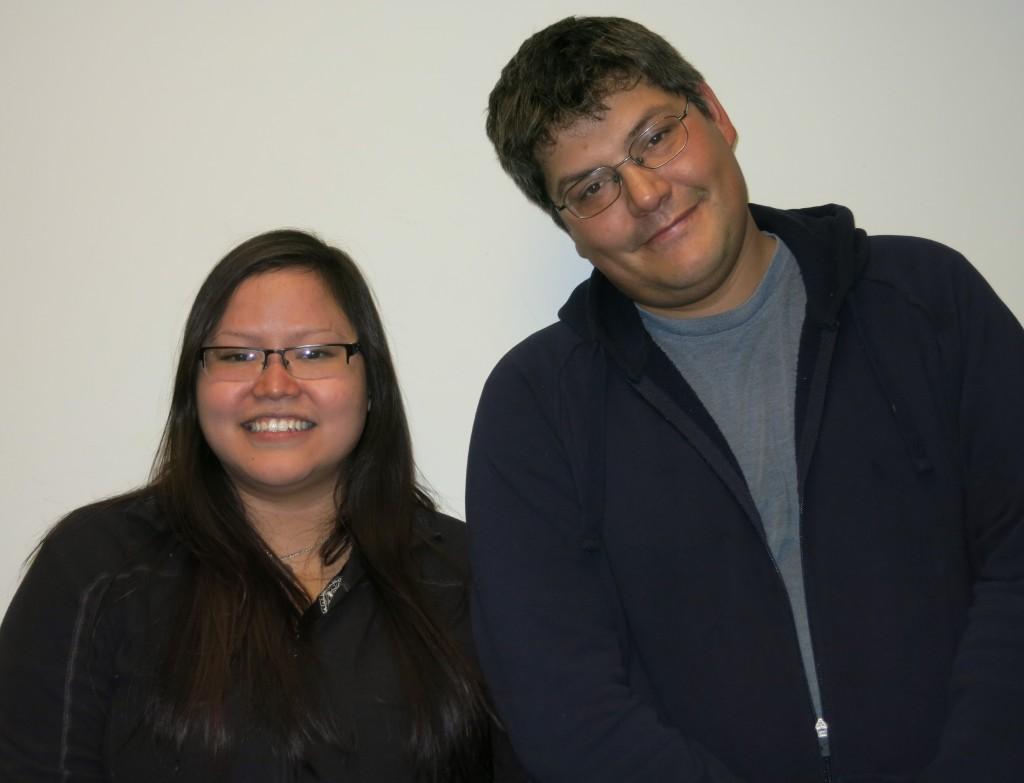 Jessie Morgan and John Hagen. (Photo courtesy of StoryCorps)