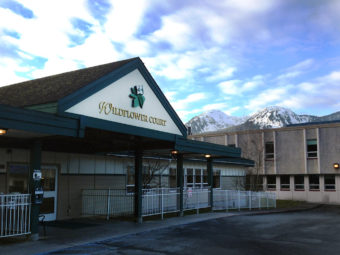 Wildflower Court is a non-profit, 57-resident long-term-care facility in Juneau. (Photo by Ed Schoenfeld/CoastAlaska)