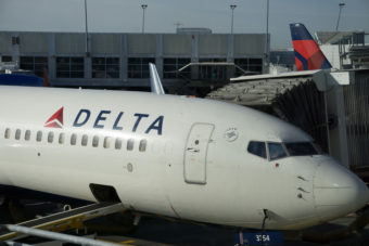Delta at SeaTac