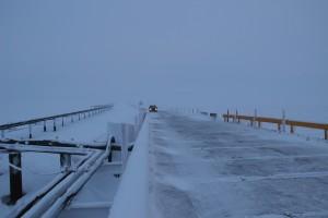 Nigliq Channel bridge on the North Slope
