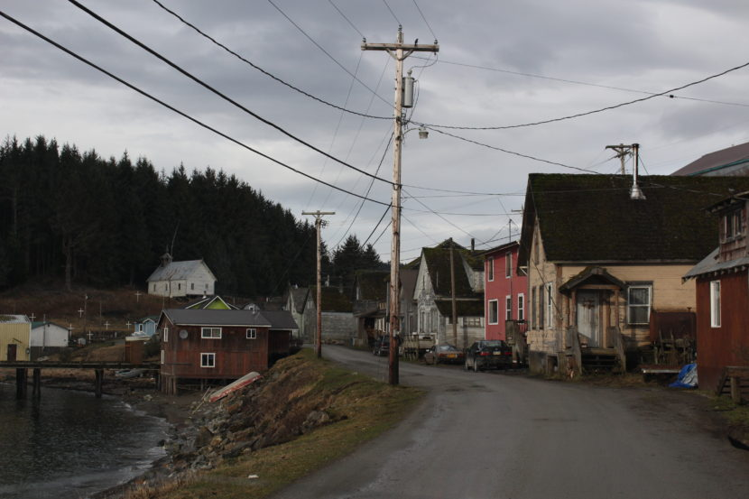 The small village of Angoon is the home to about 400 people.