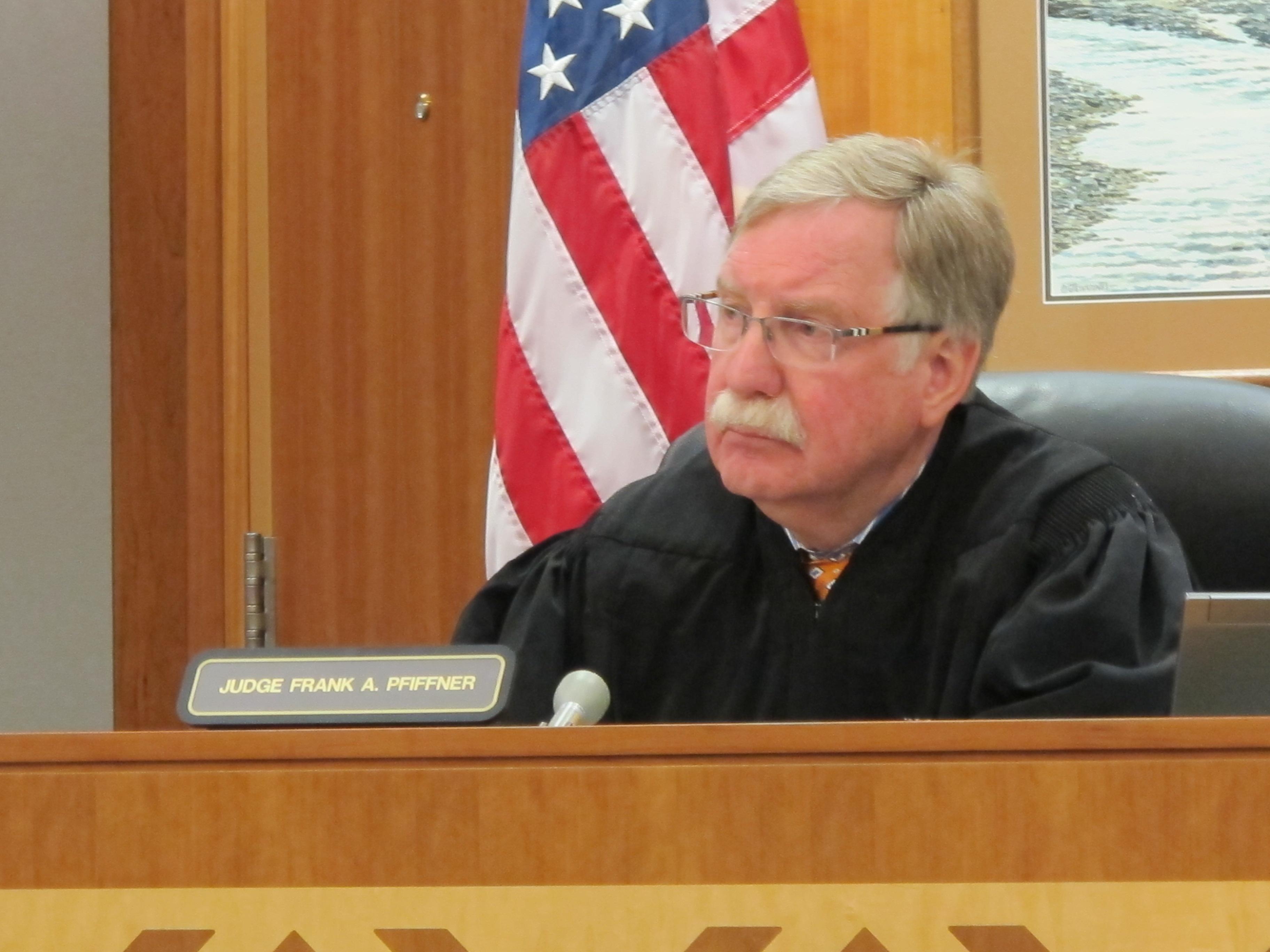 Judge Frank Pfiffner