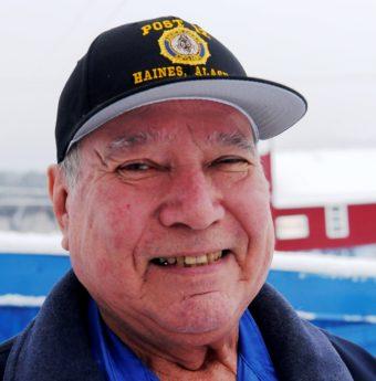 78-year-old Ralph Strong, an Alaska Native veteran from Klukwan