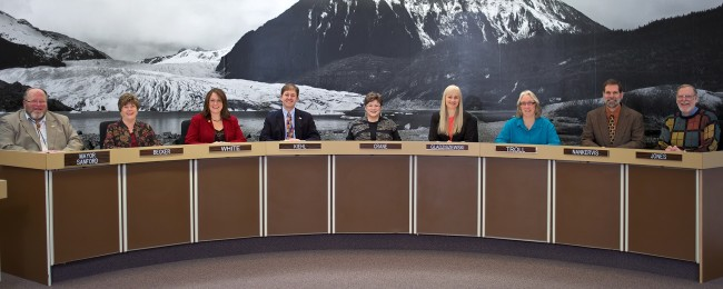 The photo used on Karen Crane's campaign brochure. (Photo courtesy City and Borough of Juneau)