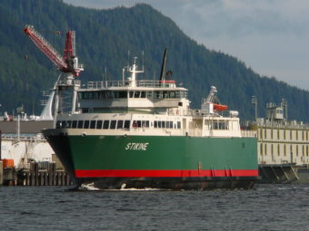 Ferry Stikine in Ketchikan