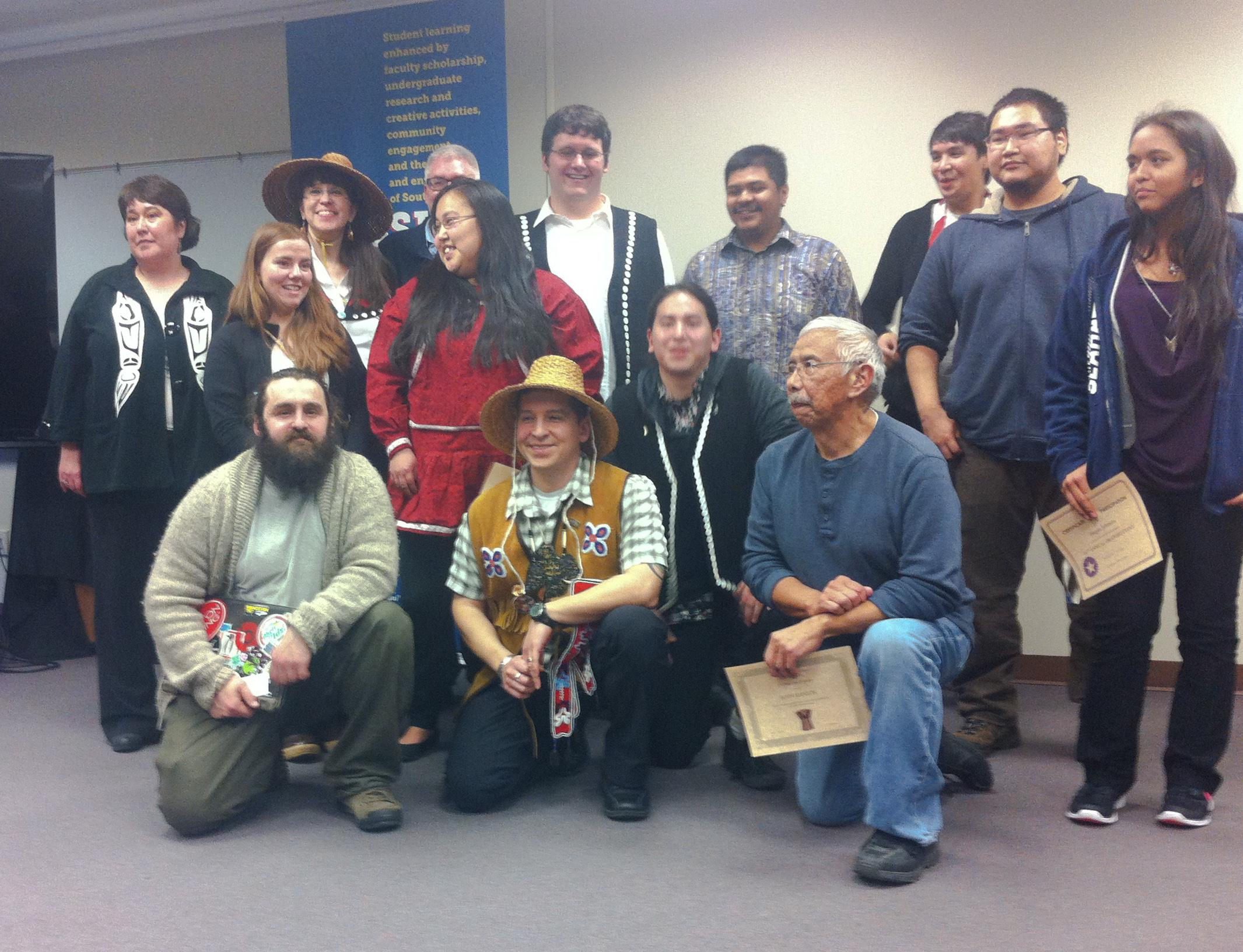 14th Annual Oratory Event participants