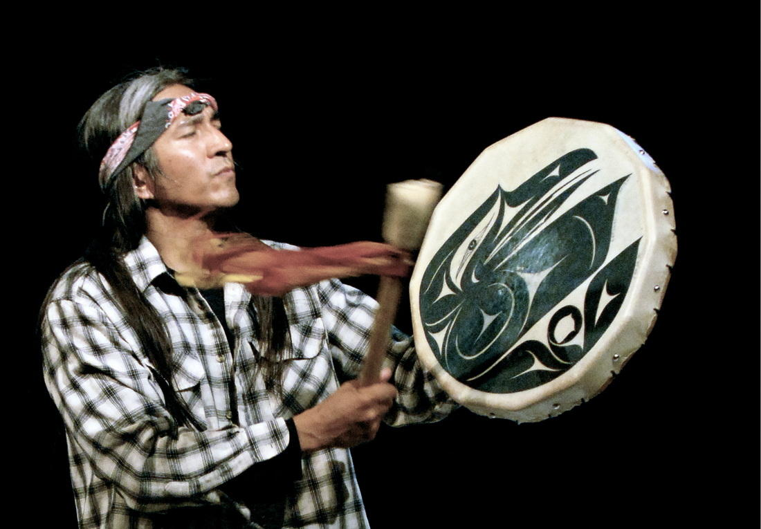 Gene Tagaban helped conduct the Compass training in Dillingham in mid-March. (Photo courtesy of Gene Tagaban)