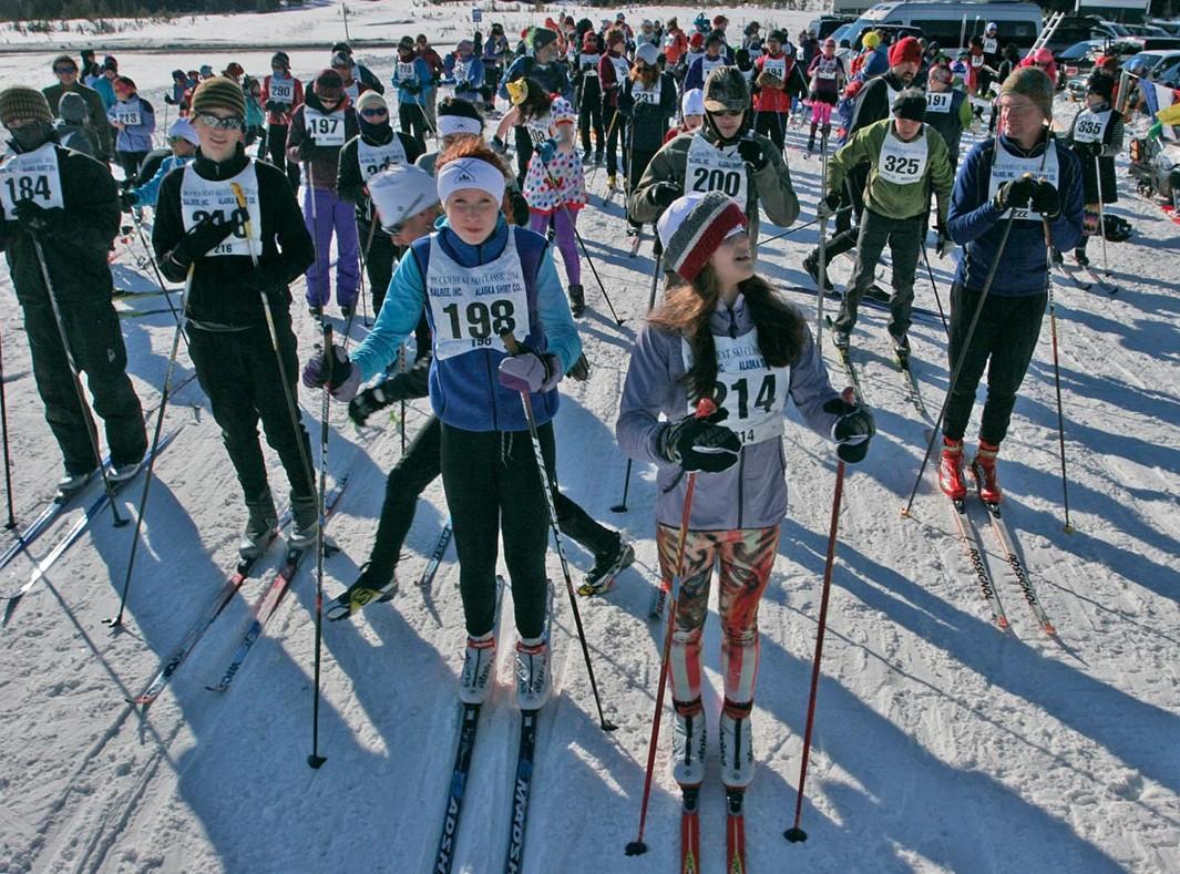 2014 Buckwheat Ski Classic racers