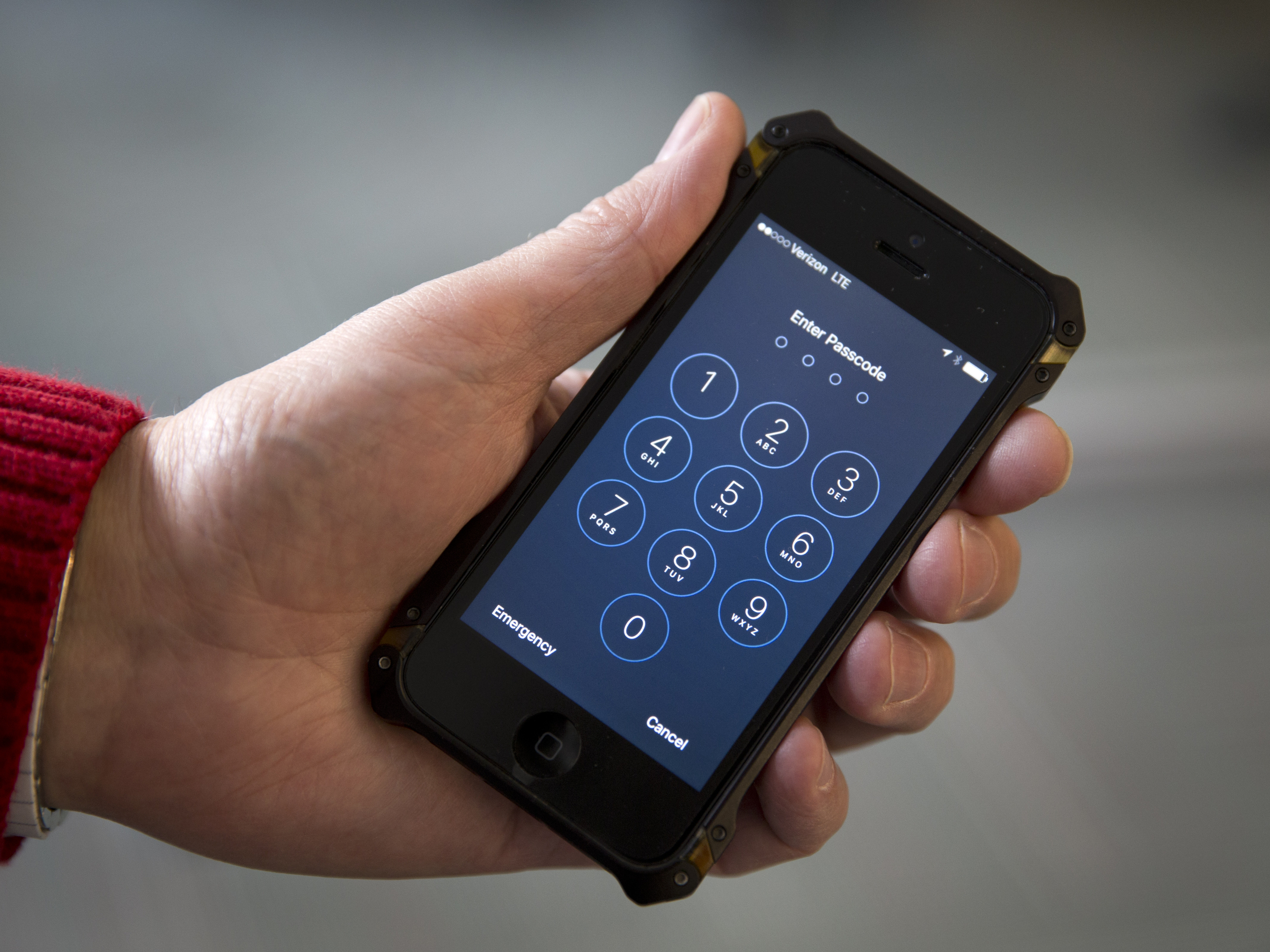 A judge agreed to the federal government's request to delay a court hearing scheduled for Tuesday in order to test a possible method for unlocking Syed Rizwan Farook's iPhone. Carolyn Kaster/AP
