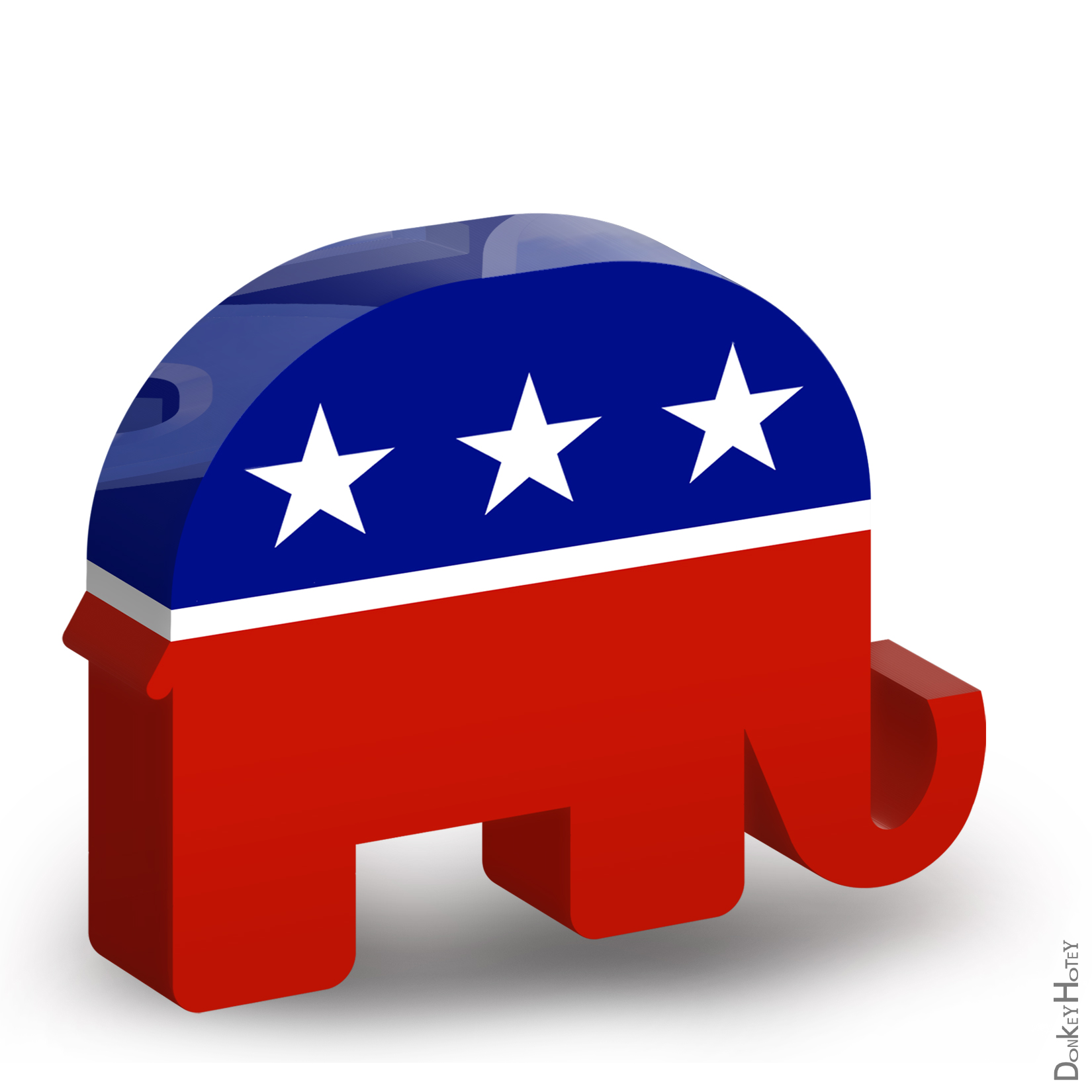 GOP Republican logo
