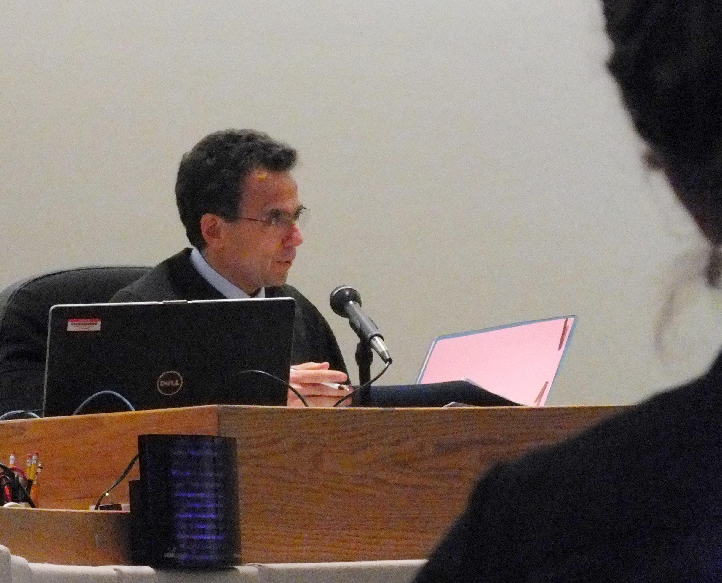 Juneau District Court Judge Keith Levy