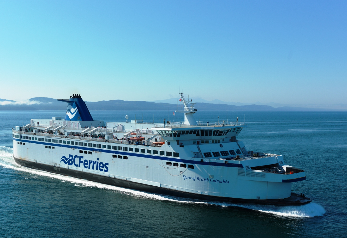The Spirit of British Columbia, a ferry in the province's fleet. (Kent Kallberg/BC Ferries)